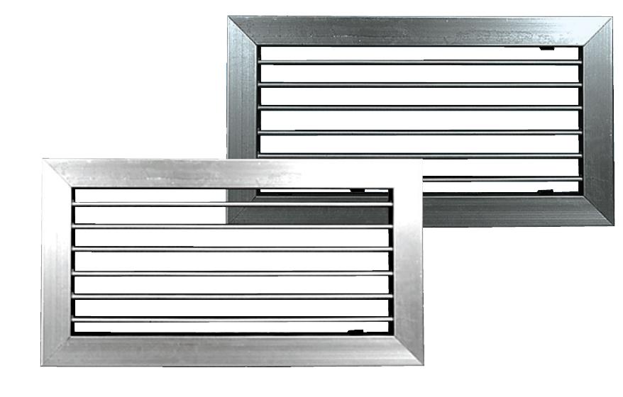 Notre gamme d 39 accessoires pour la ventilation for Grille de ventilation murale
