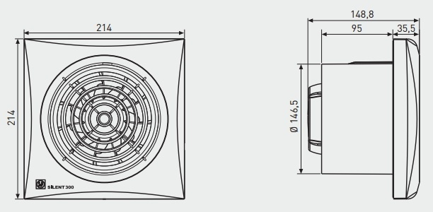 Extracteur salle de bain hygrostat pictures galerie d for Extracteur de salle de bain