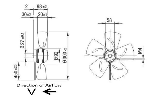 ventilateur axial ebmpapst a2e300